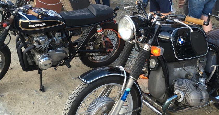 Vintage moto meet