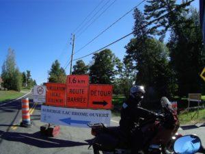 Road Closed Canada