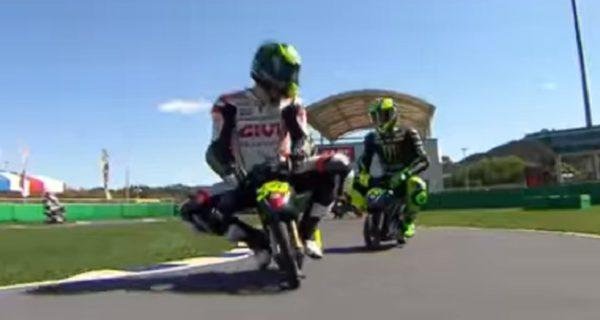 MotoGP on minibikes